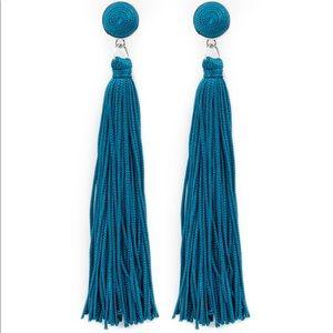 Tightrope Tassel Blue